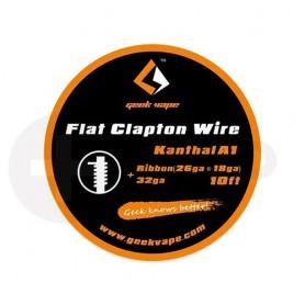 GeekVape - SS Flat Clapton Wire ss316L