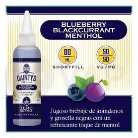 Dainty's Premium Blueberry Blackcurrant Menthol 50ML