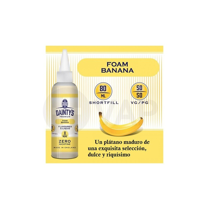 Dainty's Premium Foam Banana 80ML