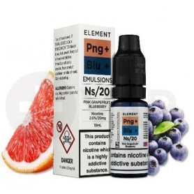 Pink Grapefruit Blueberry 20mg 10ml - Salts by Element