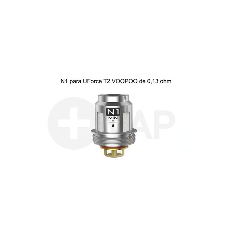 Resistencias N1 para UForce T2 VOOPOO de 0,13 ohm – Voopoo Coil