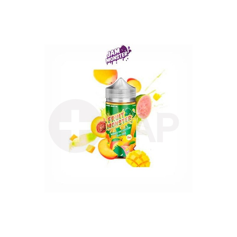 FRUIT MONSTER MANGO PEACH GUAVA (BOOSTER 100 ML) – JAM MONSTER