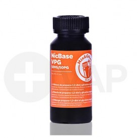 Chemnovatic Nicbase 50/50VPG Mix & Go 80ml