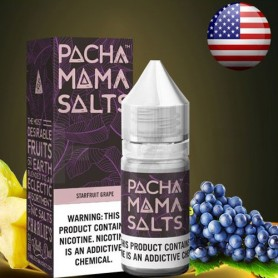Pachamama Salts Starfruit Grape 20mg 10ml