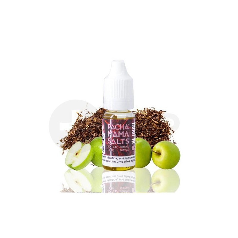 LÍQUIDO NIC SALT APPLE TOBACCO BY PACHAMAMA