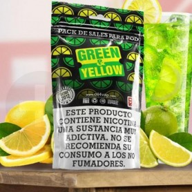 Green & Yellow (Pack de Sales) 23ml By Oil4Vap