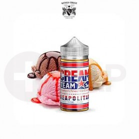 CREAM TEAM NEAPOLITAN (BOOSTER 100ML) KINGS CREST