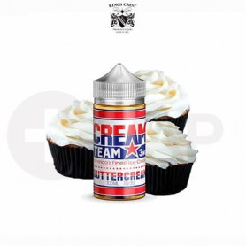 CREAM TEAM BUTTERCREAM (BOOSTER 100ML) KINGS CREST